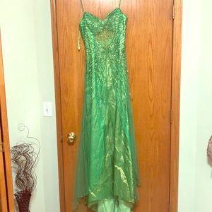 Gorgeous mermaid color sequin dress